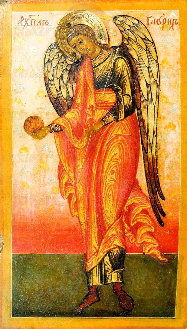 Икона Гавриил Архангел (копия 17 века)