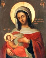 Барловская икона Божией Матери (копия старинной)