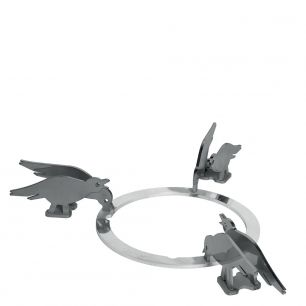 Набор декоративных решеток. Дизайн - птицы. Smeg KPDSN75B