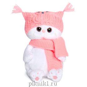 Кошечка Ли-ли Беби в шапке-сова и шарфе 20 см