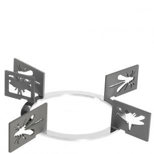 Набор декоративных решеток. Дизайн - насекомые. Smeg KPDSN75I