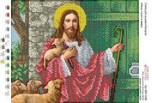 А4Р_109. Иисус Стучит В Дверь А4 (набор 700 рублей) Virena
