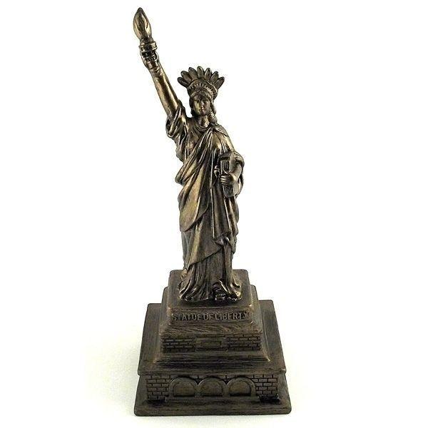 Копилка Статуя свободы золотая