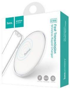 Беспроводное зарядное устройство Hoco CW6 (white)