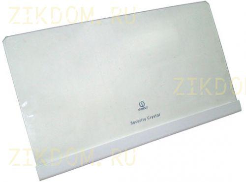 Полка стеклянная для холодильника Indesit C00257423