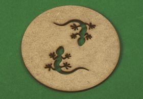 """Подставка для кружки """"Две ящерицы"""". в подарок при покупке любой игры серии """"Эволюция"""""""