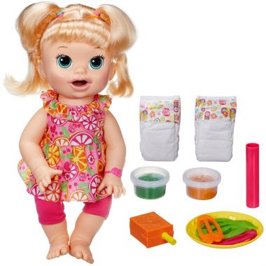 Кукла Baby Alive беби элайв разговаривает и кушает Hasbro