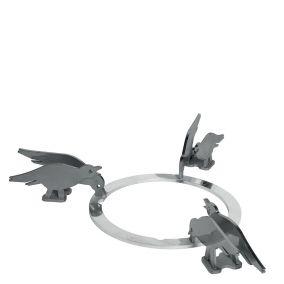 Набор декоративных решеток. Дизайн - птицы. Smeg KPDSN60B