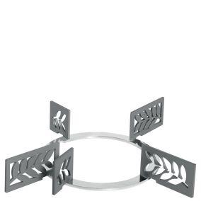 Набор декоративных решеток. Дизайн - листья. Smeg KPDSN60L