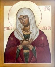 Умиление Серафимо-Дивеевская (икона на дереве)