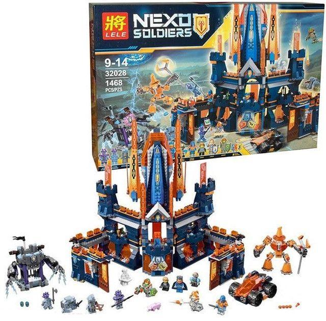 """LELE NEXO""""Королевский замок Найтон"""" 1468 деталей NO.32028"""