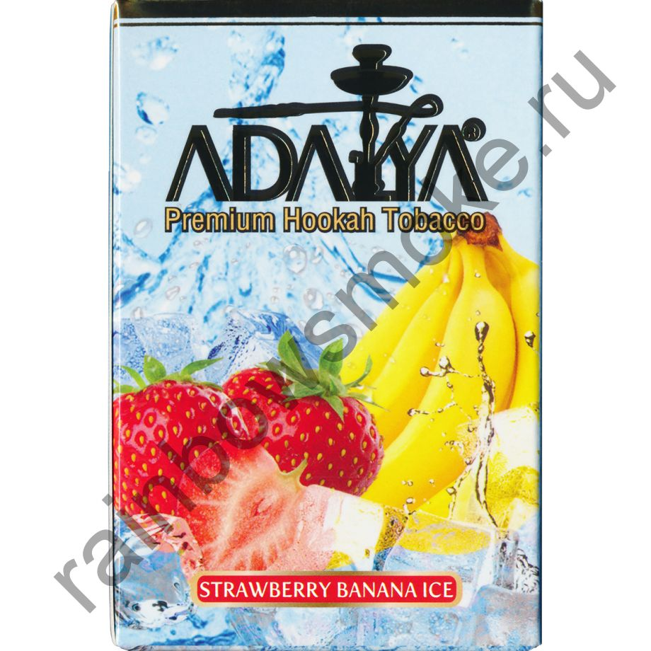 Adalya 50 гр - Strawberry Banana Ice (Ледяная клубника с Бананом)