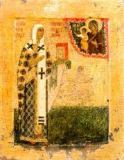 Икона Никита Новгородский (копия 16 века)