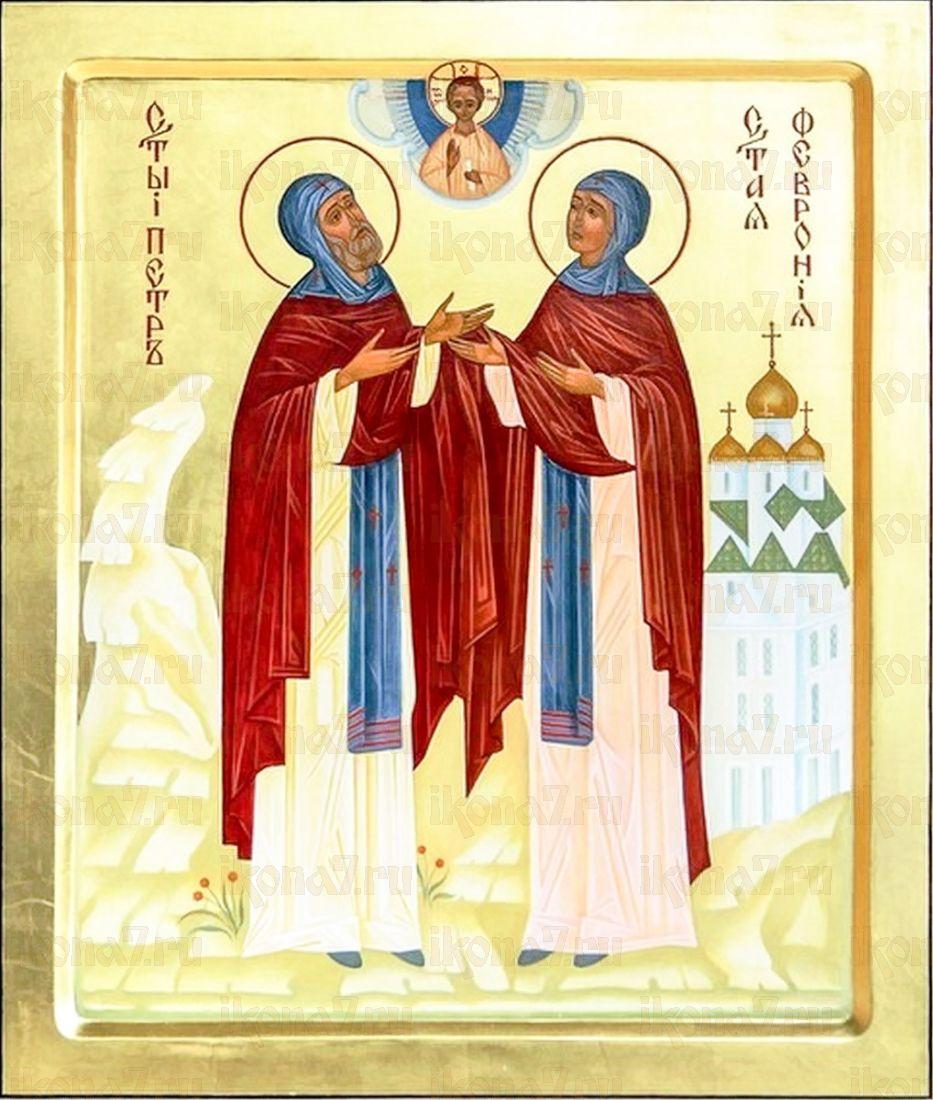 Икона Петр и Феврония Муромские