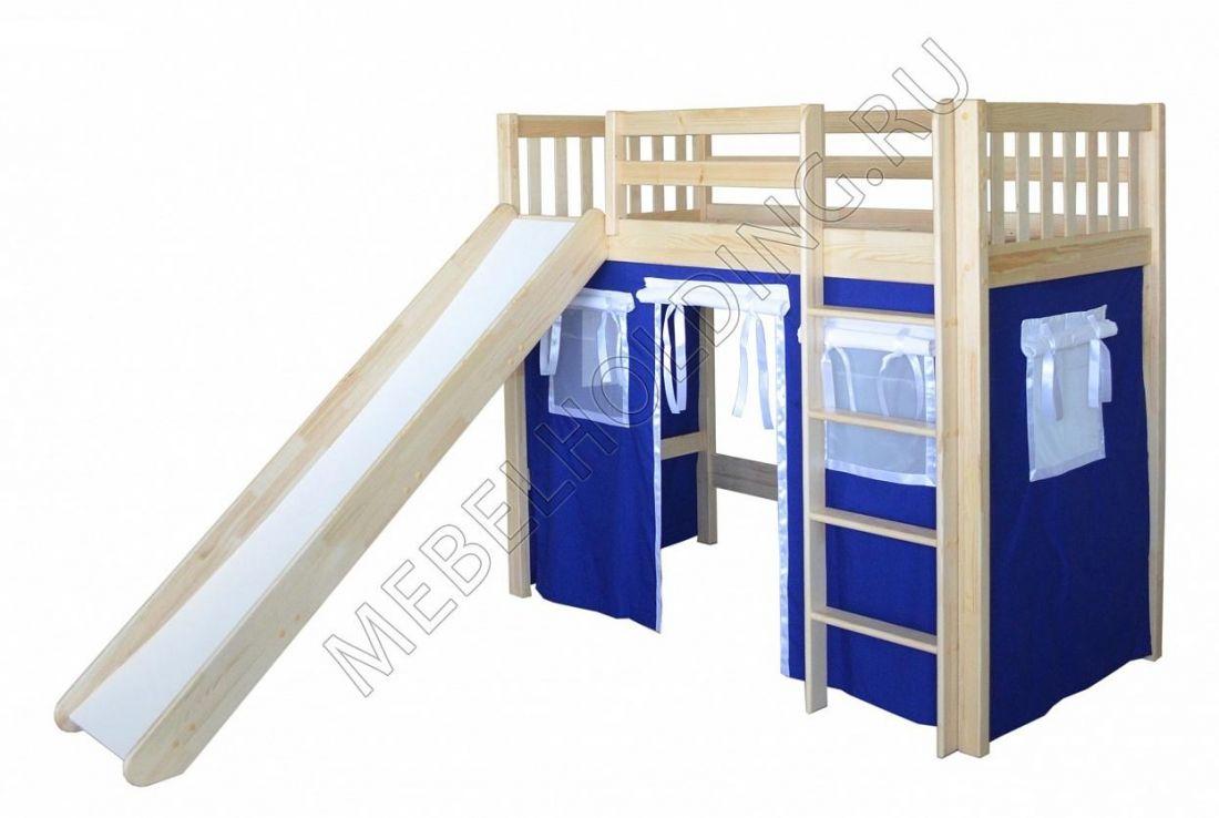 Игровая кровать-чердак Трубадур-1