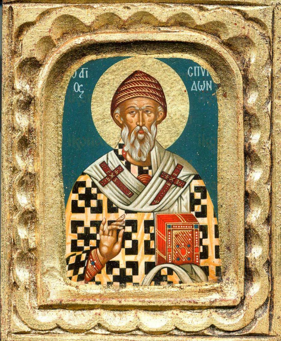 Спиридон Тримифунтский (копия старинной иконы)