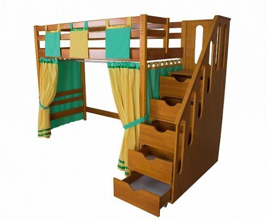 Игровая кровать-чердак Непоседа