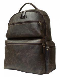 Кожаный рюкзак Faetano brown