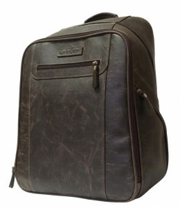 Кожаный рюкзак Cossira brown