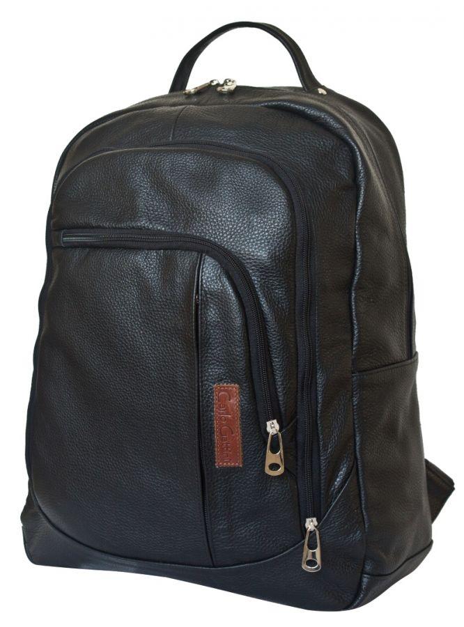 Кожаный рюкзак Marsano black