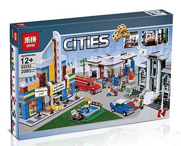 "LEPIN CITIES "" Центр города "" 2080 деталей NO.02022 ( CITY )"