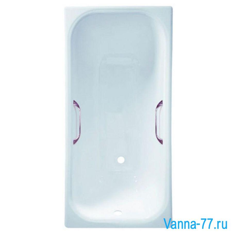 Чугунная ванна Универсал ЭЛЕГИЯ 170Х70 с ручками