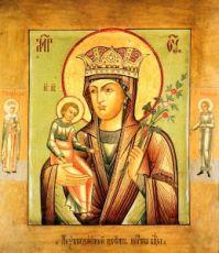 Неувядаемый Цвет икона Божией Матери (копия старинной)