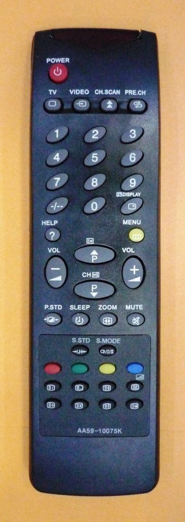 Samsung AA59-10075K, 3F14-00048-180 (TV с t/t) (CK-6844, CK-686, CK-7037, CK-7202, CK-7202WTR, CK-7251, CK-902SXR, CS-569B)