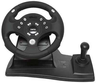 Джойстик-руль Rally-Sport с эффектом вибрации GW-11VR