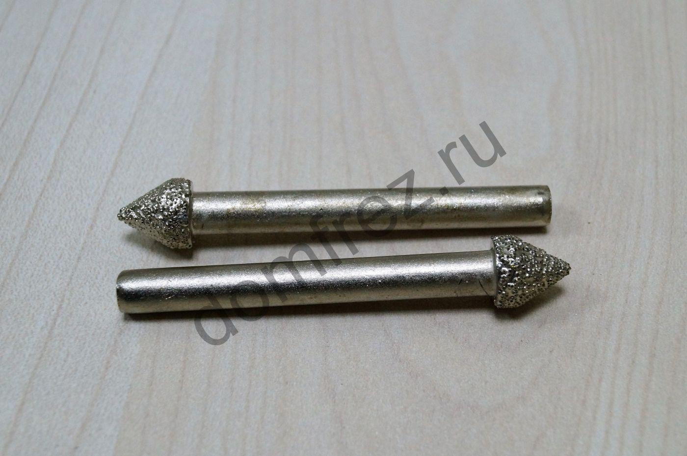 Фреза алмазная концевая фасонная №17 6x10х60x60 A8910617