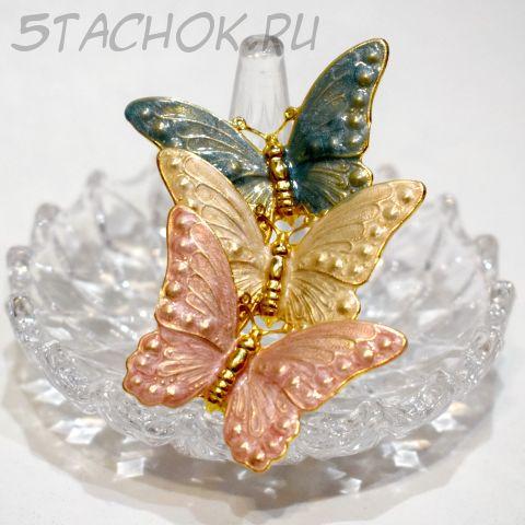 "Брошь ""Бабочки"" (США)"