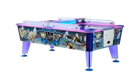 Всепогодный аэрохоккей «Arctic» 8 ф (238 х 128 х 83 см, цветной, купюроприемник)