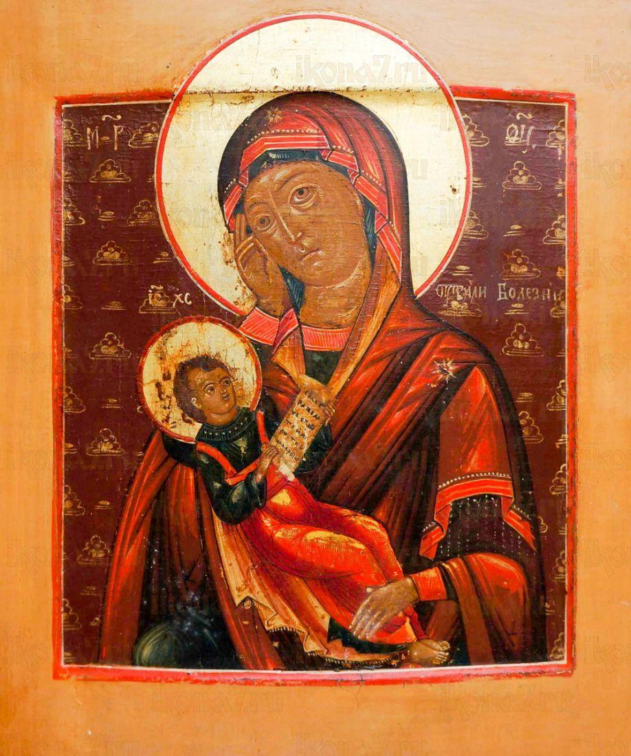 Икона Утоли мои печали (копия старинной)