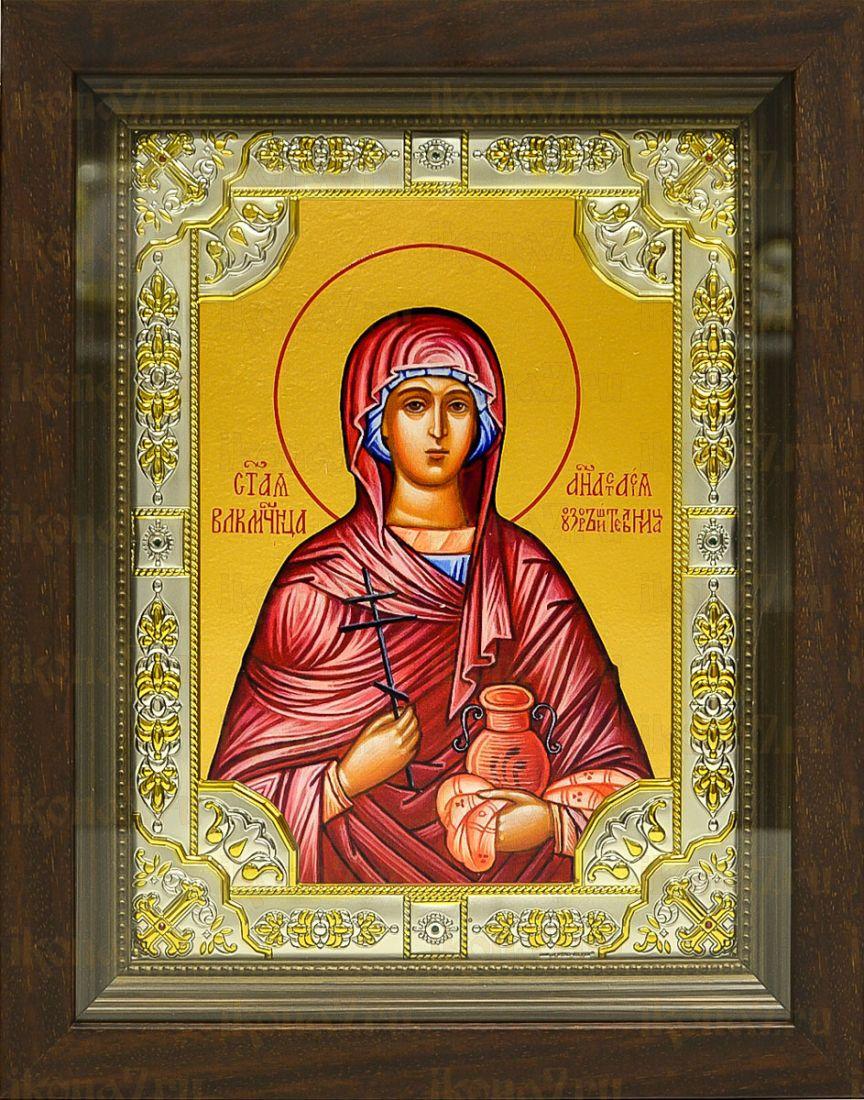 Анастасия Узорешительница (24х30), серебро