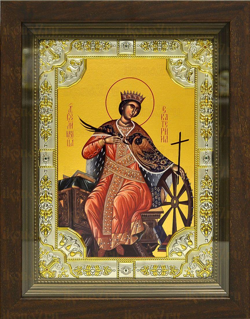 Екатерина (24х30), серебро