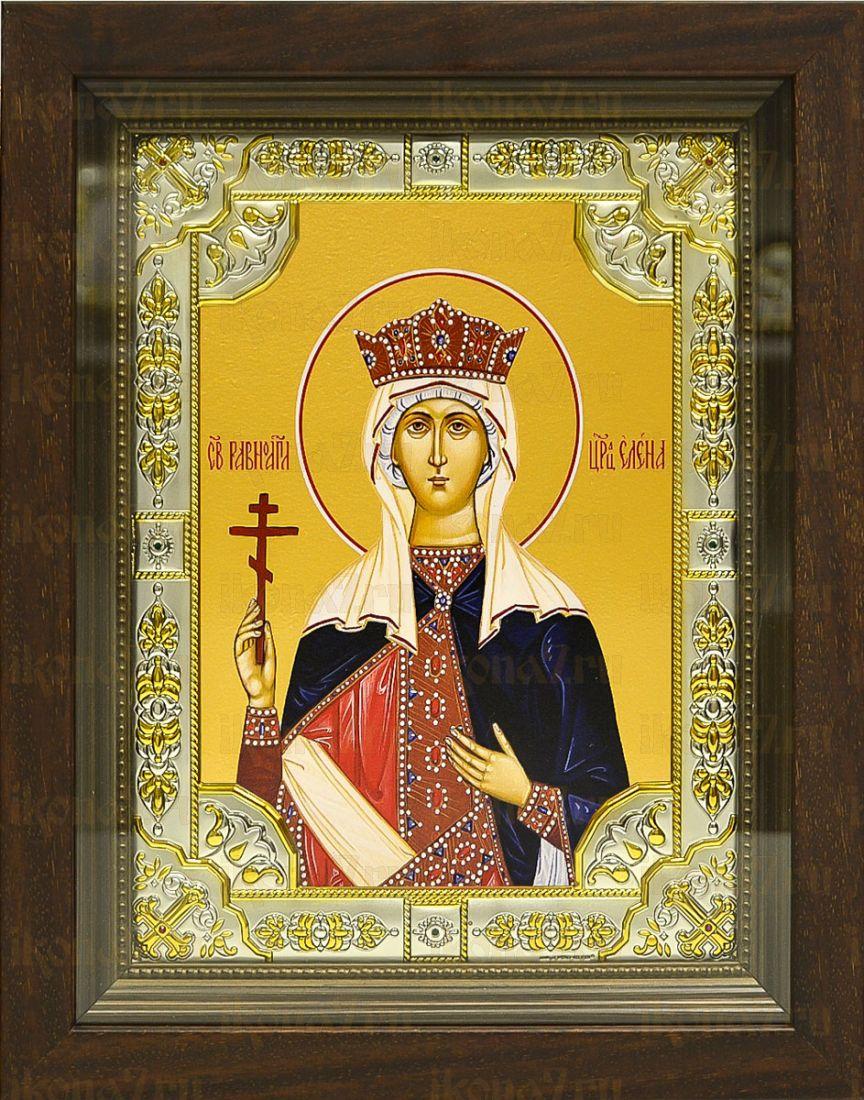 Елена, царица (24х30), серебро