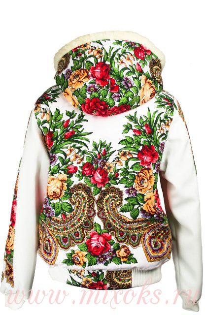 """Куртка на овчине """"Брусничка"""""""