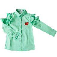 Рубашка для девочек 3-7 лет  ОР422Р