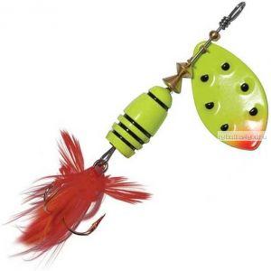 Блесна Extreme Fishing Total Obsession №1 / 5 гр / цвет:  14-FluoYellow/FluoYe