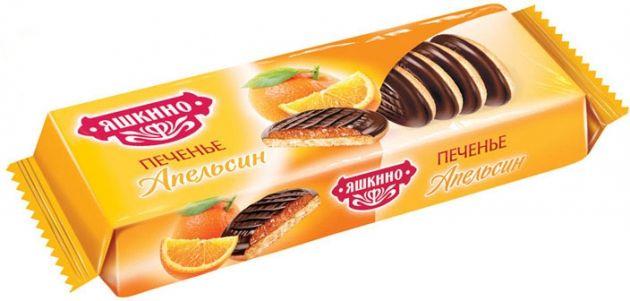 Печенье Сдобное апельсин 137г Яшкино