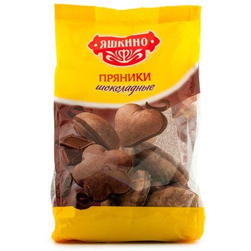 Пряники Шоколадные 350г Яшкино