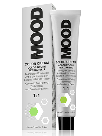 Mood 6/01 Крем-краска Натуральный Пепельный Темный Блонд