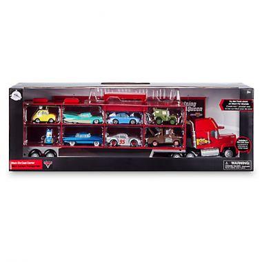 Грузовик Мак говорящий и набор из 8 металлических машинок Дисней - Тачки 3