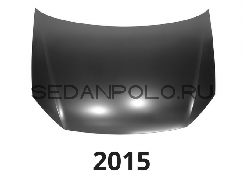 Капот Аналог для Volkswagen Polo Sedan 2015