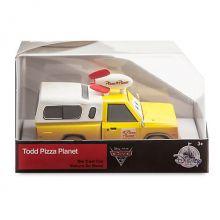Тод Планета пицца металлическая машинка Тачки 3 - Дисней