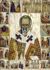 Икона Николай Чудотворец (копия 14 века)