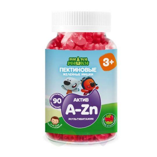 Ми-ми-мишки актив мультивитамин жев. пастилки пектиновые, 90 шт.