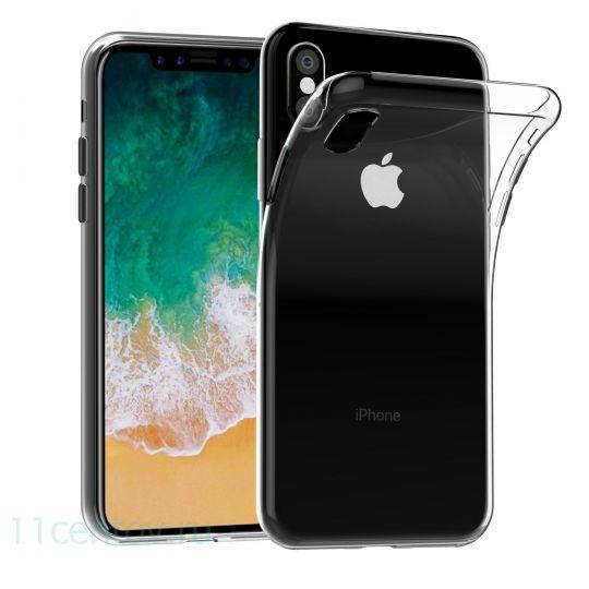 Чехол силиконовый для iPhone X/Xs
