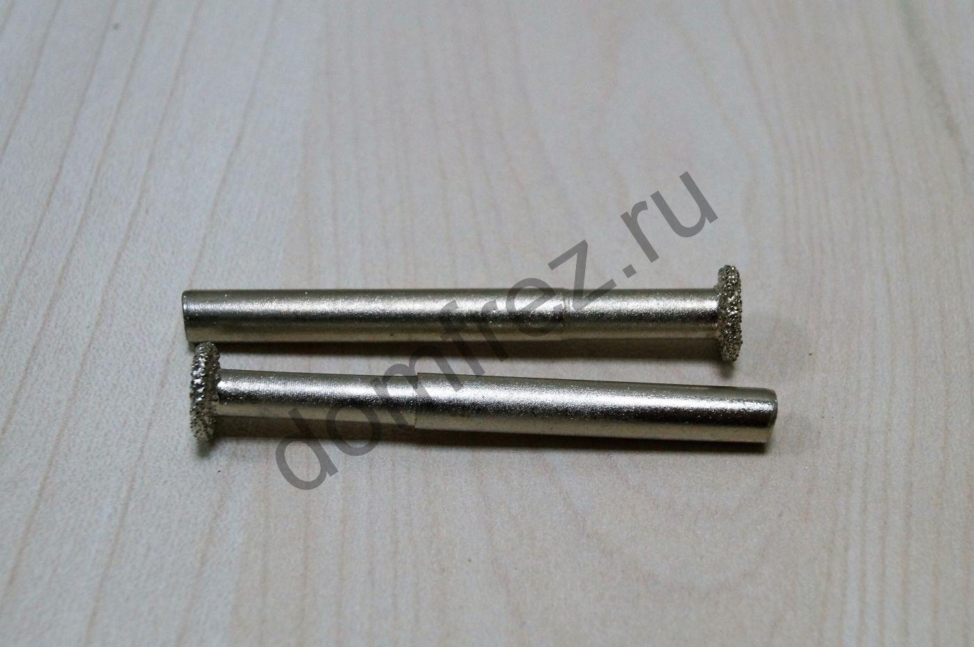 Фреза алмазная концевая фасонная №8 6x10x60 A8910608