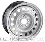 TREBL 8075T 6x15/4x114.3 ET43 D67.1 Silver